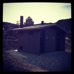 Walker Pass Campground potty